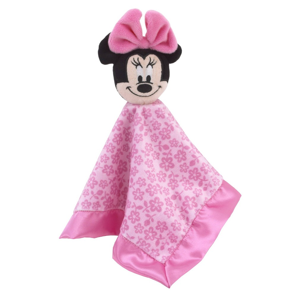 Image of Disney Minnie Mouse Lovey Baby Security Blanket