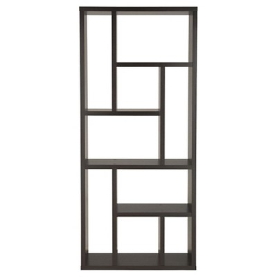"""71"""" Stanza9 Shelf Bookcase Canyon Cappuccino - HOMES: Inside + Out"""