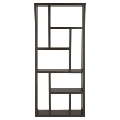 """71"""" Stanza9 Shelf Bookcase Canyon Cappuccino - HOMES: Inside + Out - image 1 of 3"""