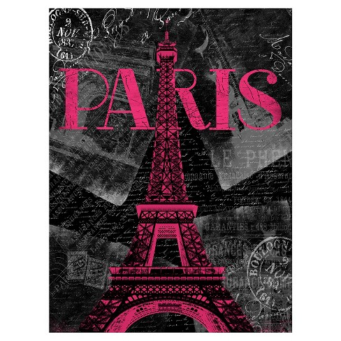Pink Paris by Jace Gray Unframed Wall Art Print - image 1 of 2