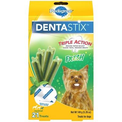 Pedigree Dentastix Fresh Toy Small Dental Dog Treats