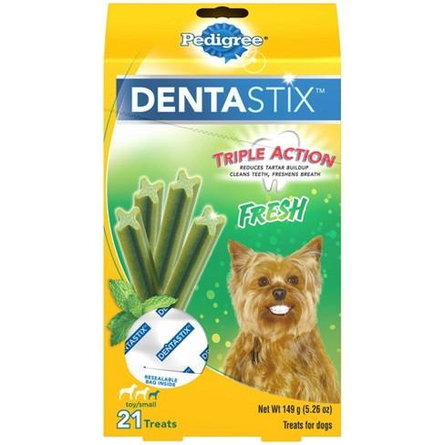 Pedigree Dentastix Fresh Toy Small Dental Dog Treats - image 1 of 4