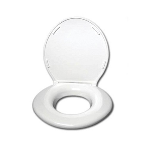 Superb Big John Products Standard Elongated Closed Front Toilet Seat With Cover White Theyellowbook Wood Chair Design Ideas Theyellowbookinfo