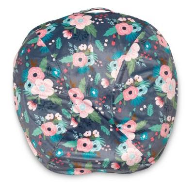 Boppy Boutique Newborn Infant Seat Lounger Slipcover - Floral