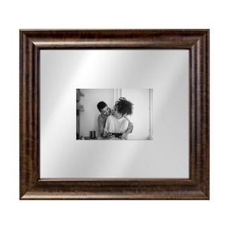 Dark Wood 13x15 Float Single Image Frame 8X10 Brown - Threshold™