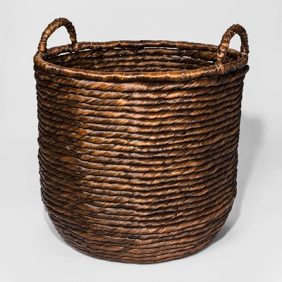 Decorative Basket Large - Dark Brown - Threshold™