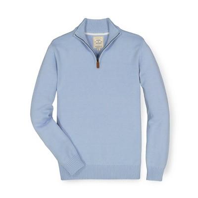 Hope & Henry Mens' Half Zip Pullover Sweater