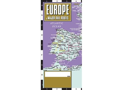 Streetwise Europe & Major Rail Routes -  (Streetwise) (Paperback) - image 1 of 1