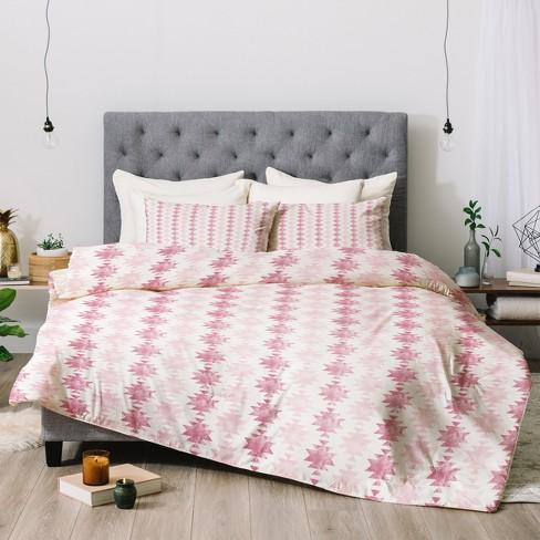 Pink Little Arrow Design Co Modern Aztec Comforter Set (Twin) - Deny Designs - image 1 of 1
