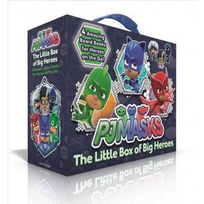 The Little Box of Big Heroes (Pj Masks) (Board Book)