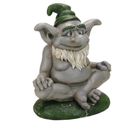 10.3  Outdoor Sculpture Troll Statue - Exhart