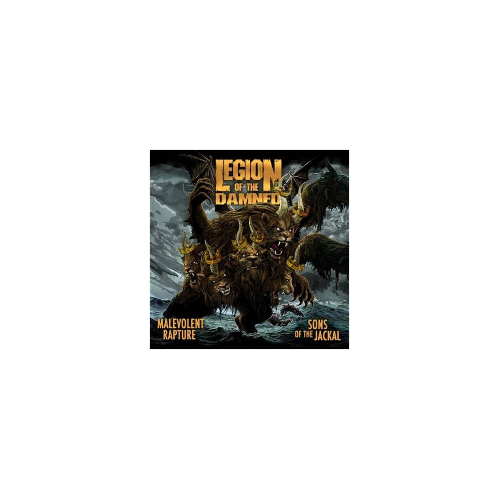 Legion Of The Damned - Malevolent Rapture/Sons Of The Jackal (CD)