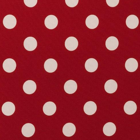 db7fd6e55cd 2-Piece Outdoor Toss Pillow Set - Red White Polka Dot 18