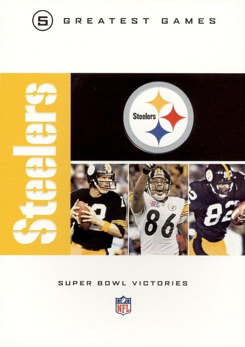 Nfl greatest games series:Pittsburgh (DVD) - image 1 of 1