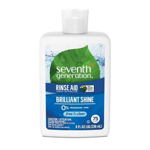 Seventh Generation Auto Dish Rinse Aid - 8 fl oz - image 1 of 3