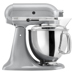 KitchenAid Artisan Series 5 Quart Tilt-Head Stand Mixer- Ksm150, Grey Grey