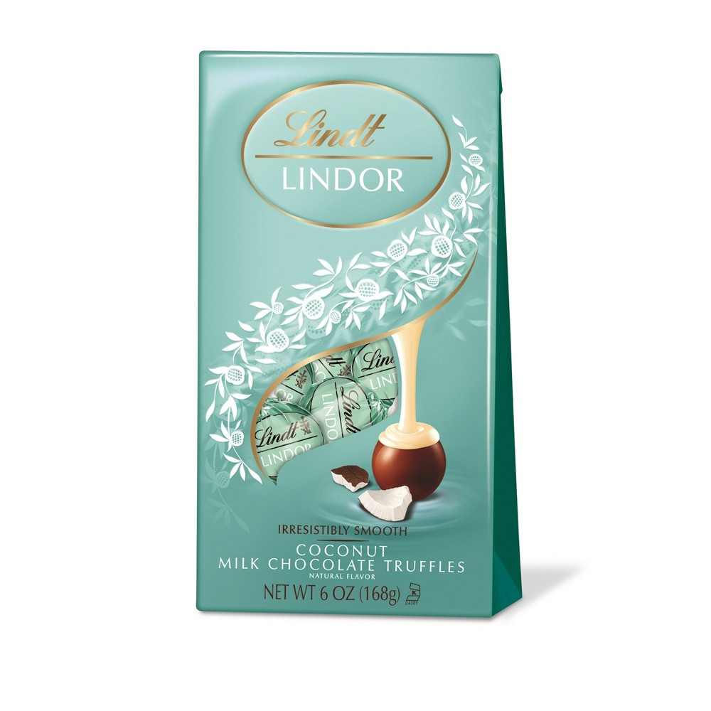 Lindt Lindor Coconut Milk Chocolate Truffles - 6oz