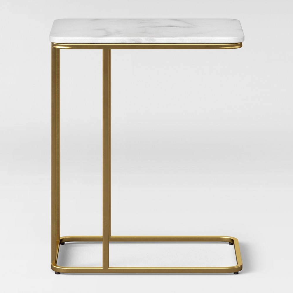 Highfield C Table White Marble - Project 62 was $99.99 now $49.99 (50.0% off)