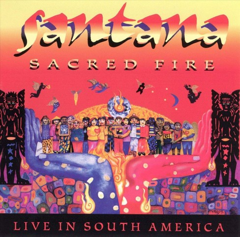 Santana - Sacred fire:Live in south america (CD) - image 1 of 1