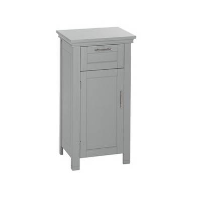 Somerset Collection - Single Door Floor Cabinet - Gray - RiverRidge®