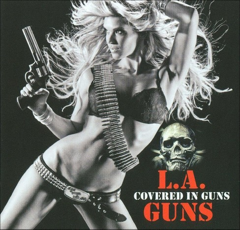 L.A. guns - Covered in guns (CD) - image 1 of 1