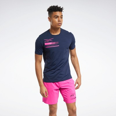 Reebok ACTIVCHILL Graphic Move Tee Mens Athletic T-Shirts