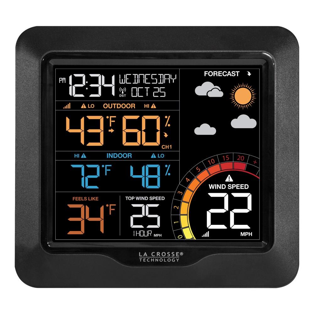 La Crosse Technology Wind Speed Weather Station - Color Lcd La Crosse Technology Wind Speed Weather Station - Color Lcd
