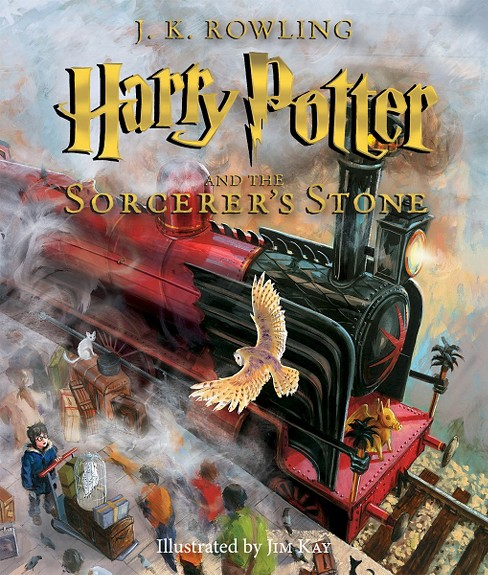 Harry Potter and the Sorcerer's Stone: The Illustrated Edition (Harry Potter Series #1)(Hardcover) by J. K. Rowling - image 1 of 1