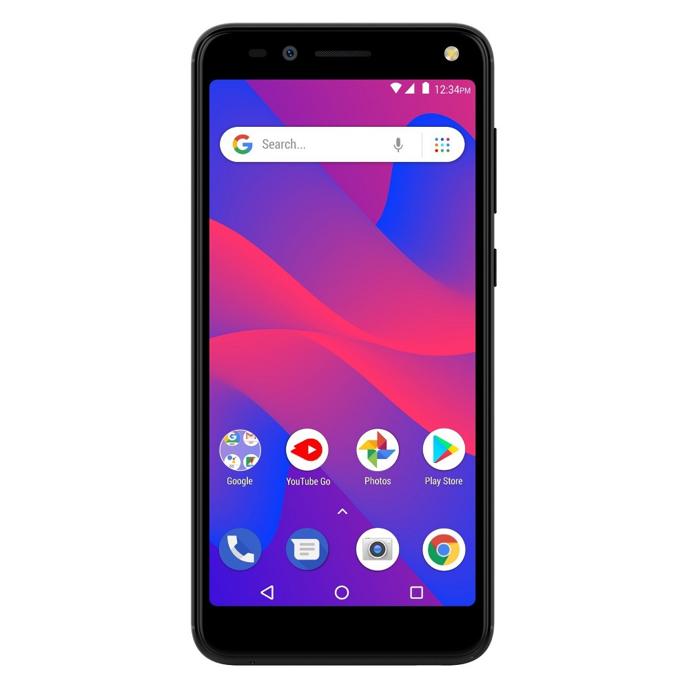 Blu Grand M3 Smartphone (Gsm Unlocked) - Black More Screen! The 18:9 Widescreen curved display with slim bezels gives you more screen to use and a better handheld experience. Plus added Fingerprint Sensor for security, the Grand M3 is the total package! Color: Black.