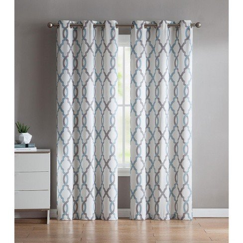 VCNY Home Caldwell Printed Curtain Panel Pair - image 1 of 2