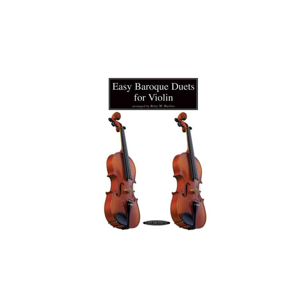Easy Baroque Duets for Violin (Paperback)