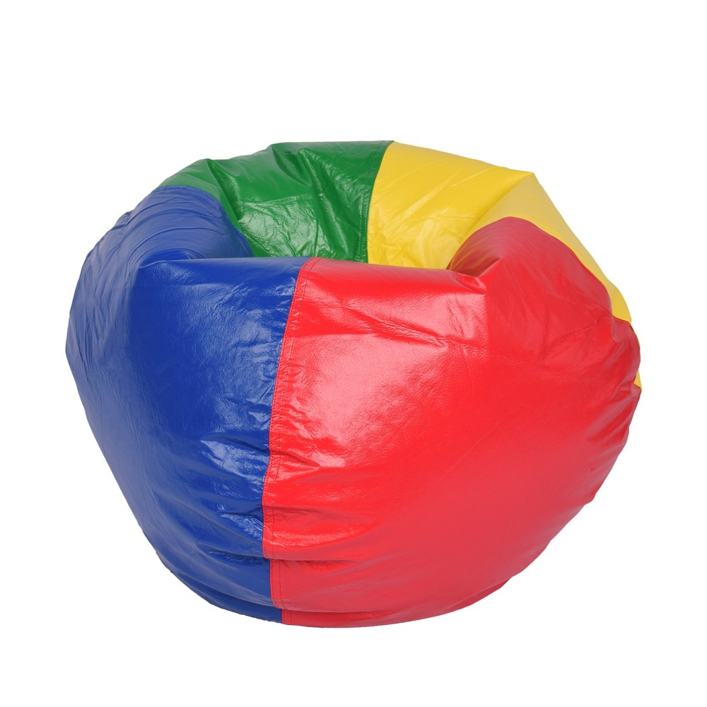 Image of Ace Bayou Multi Primary Matte Vinyl Bean Bag, 98""
