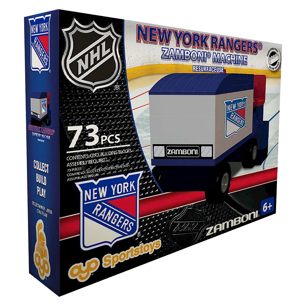 NHL New York Rangers Oyo Zamboni Set, Ny Rangers