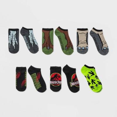 Boys' Jurassic World 6pk Jurassic Art Socks