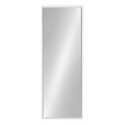 "16"" x 48"" Evans Framed Wall Panel Mirror White - Kate and Laurel"