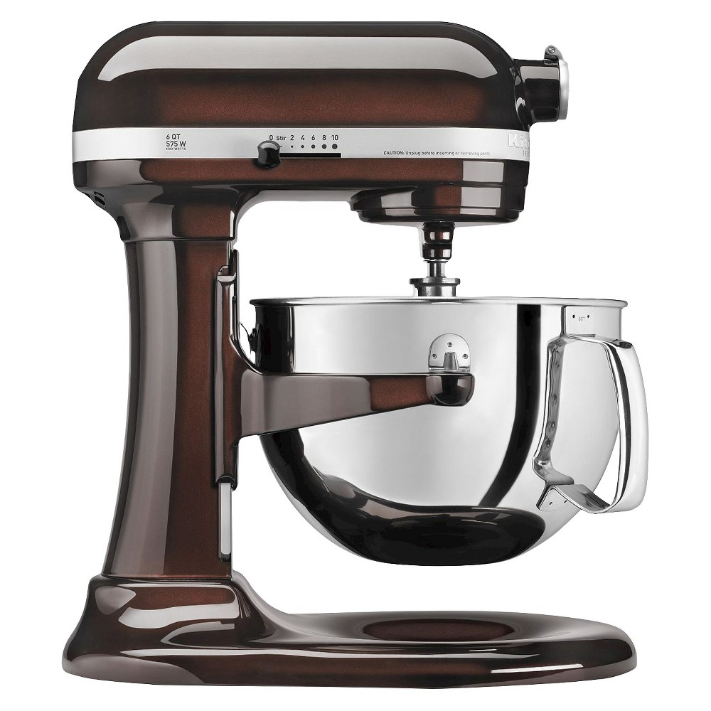 KitchenAid Professional 600 Series 6-Quart Bowl-Lift Stand Mixer – KP26M1X, Brown 15744933