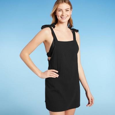 Juniors' Shoulder Tie Mini Cover Up Dress - Xhilaration™