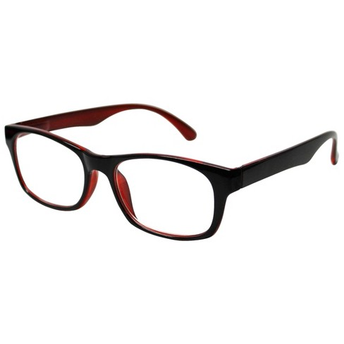 ICU Wink Black/Red Reading Glasses - image 1 of 3
