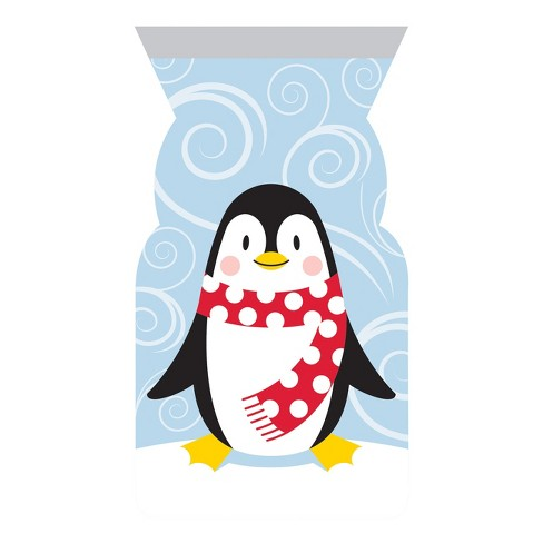 12ct Penguin Favor Bags - image 1 of 1