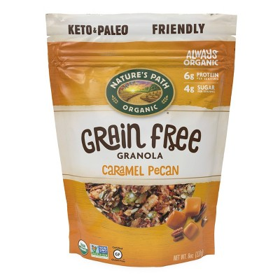 Nature's Path Grain Free Caramel Pecan Granola - 8oz