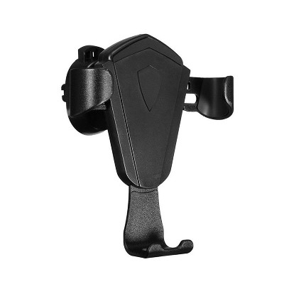 MYBAT Universal Air Vent Car Mount Holder For Cell Phones With Gravity Sensing Auto Lock, Black