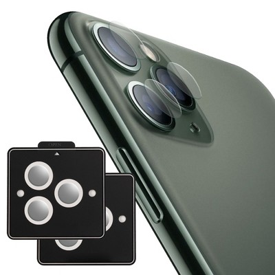Insten For Apple iPhone 11 Pro / 11 Pro Max Camera Lens Tempered Glass Protector
