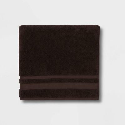 Performance Bath Towel Dark Brown - Threshold™