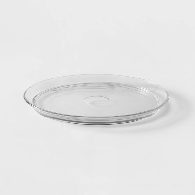 Classic Glass Round Serving Platter - Threshold™