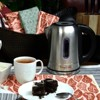 MegaChef 1.7L Electric Tea Kettle with 5 Temperature Presets - Silver - image 3 of 3