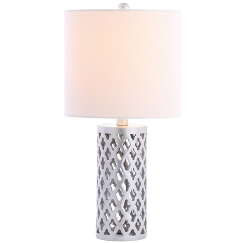 "Rorie Table Lamp Silver 10""x21"" (Includes Energy Efficient Light Bulb) - Safavieh - image 1 of 1"