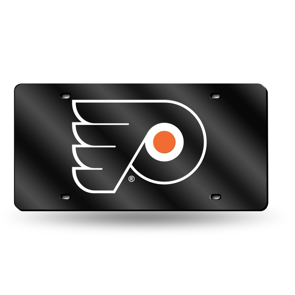 Philadelphia Flyers Rico Industries Laser Cut Auto Tag