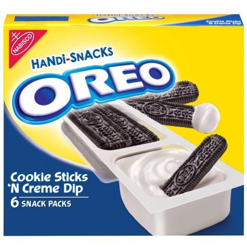 Handi-Snacks Oreo Cookie Sticks 'N Creme - 1oz/6ct - image 1 of 4