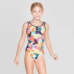 483856c9fb Girls' Believe In Mermaids One Piece Swimsuit - Art Class™ Black ...