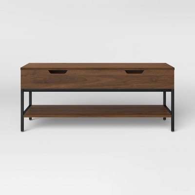 Loring Wood Lift Top Coffee Table Walnut - Project 62™